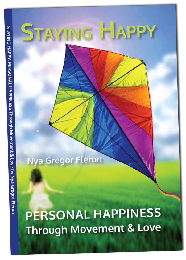 staying happy book by nya fleron front cover